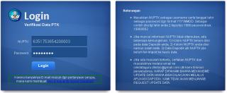 halaman Pengecekan Data Guru di Dapodik yang terhubung dengan P2TK Dikdas